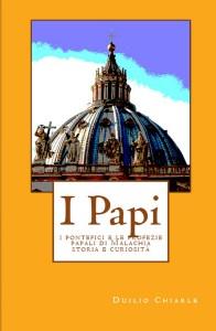 """Copertina del libro """"I Papi"""""""